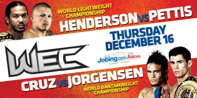 Image: WEC/UFC