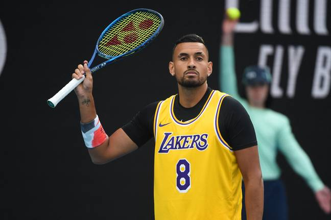 Nick Kyrgios. Credit: PA