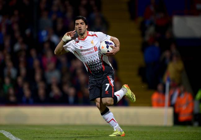 Suarez had a great time at Liverpool. Image: PA Images