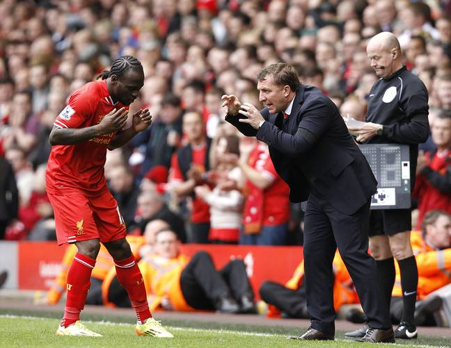 Rodgers trying to explain how big a club Chelsea are. Image: PA Images