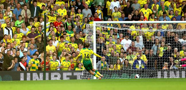 Todd Cantwell added Norwich's second goal in the first half