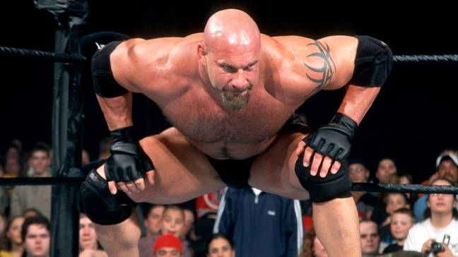 Goldberg might be one of the most feared superstars of the last 20 years but Riddle isn't scared. Image: WWE.com