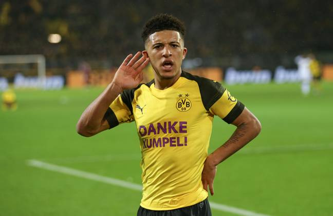 Losung Auba hasn't had as big an impact as it might, thanks in part to Sancho. Image: PA Images