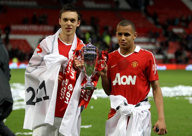 Morrison won the FA Youth Cup at Old Trafford. Image: PA Images