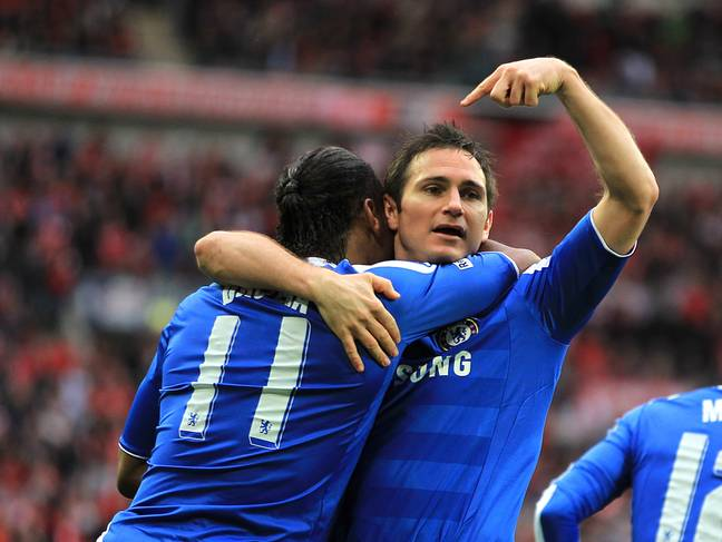 Lampard and Drogba were magic together. Image: PA Images