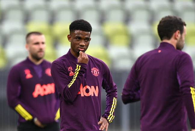 Diallo has already impressed at Old Trafford. Image: PA Images