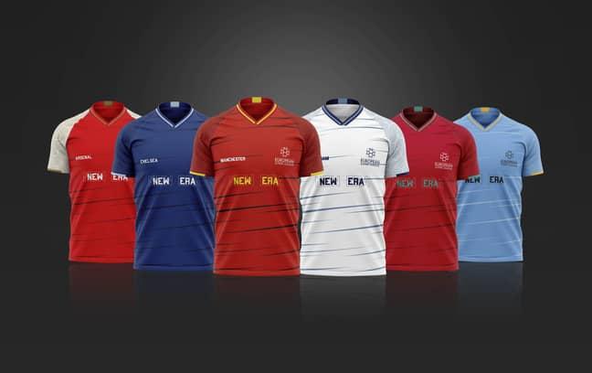 Super League shirts