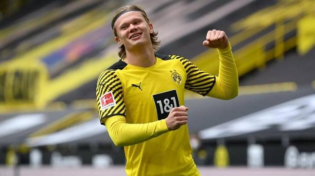 Erling Haaland scored 27 goals in 28 appearances for Borussia Dortmund this season