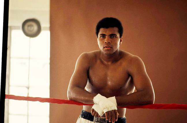 Muhammad Ali is regarded as one of the greatest sportsmen ever. (Image Credit: PA)