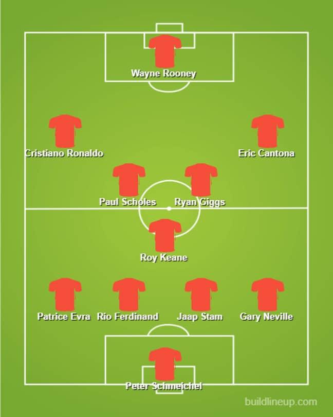The final team.