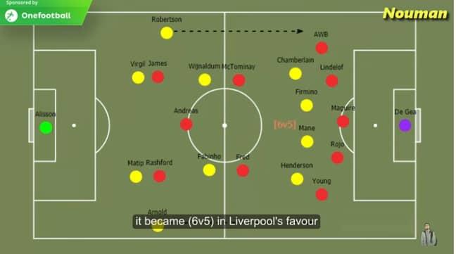 Six vs five upfront. Image: YouTube