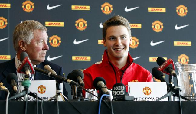 Fergie beat off competition from Manchester City to sign Nick Powell. Image: PA Images