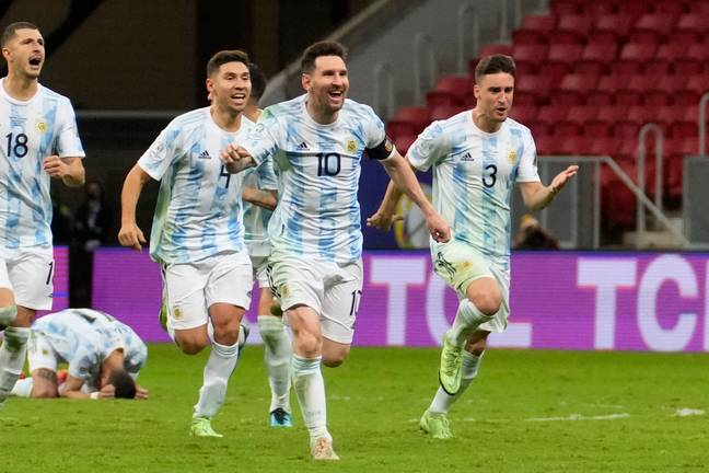 Messi is currently on international duty with Argentina. Image: PA Images