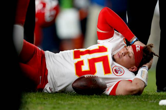 Patrick Mahomes suffered a knee injury in Kansas City Chiefs' win over Denver Broncos