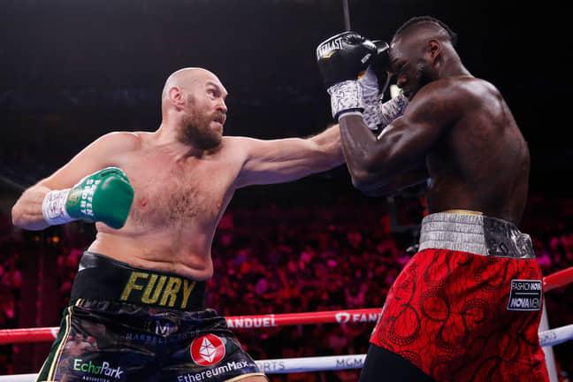 PA: Tyson Fury fighting Deontay Wilder