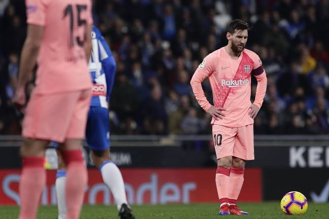 The most frightening sight in La Liga. Image: PA Images