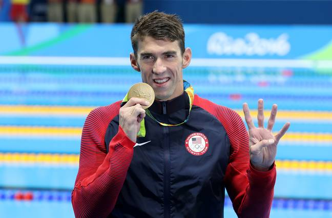 Olympic legend Michael Phelps. Credit: PA