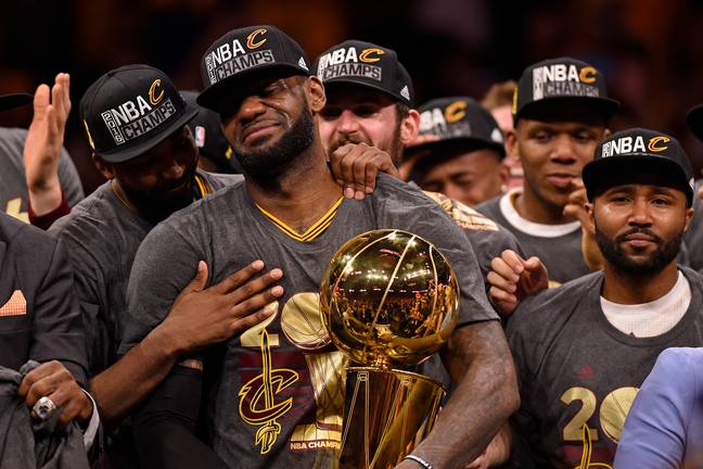 LeBron hasn't won a championship since 2016 with the Cleveland Cavaliers. Credit: PA