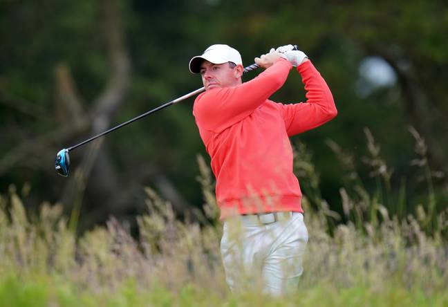 It wasn't a great day for McIlroy. Image: PA Images