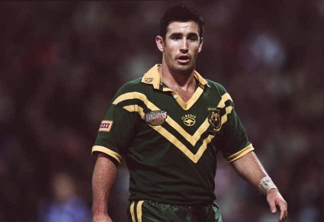 NRL legend Andrew Johns in action for Australia. Credit: PA