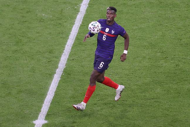 Pogba was extremely impressive against Germany. Image: PA Images