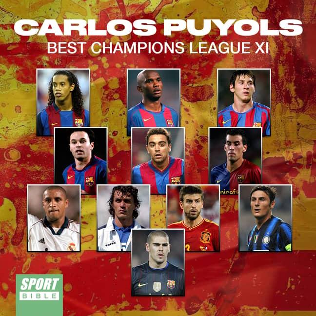 Puyol's Greatest Champions League XI