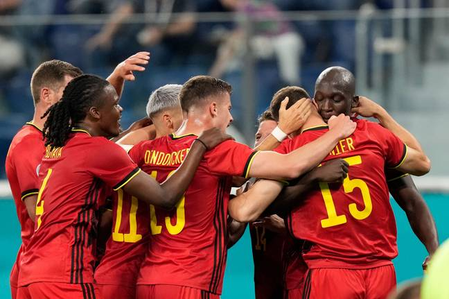 Belgium won all three of their fixtures in the group stages