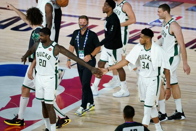 The Bucks decided to boycott their playoff game. Credit: PA