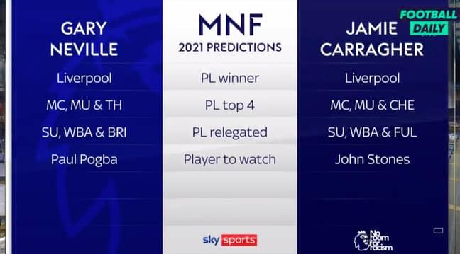 Credit: Sky Sports