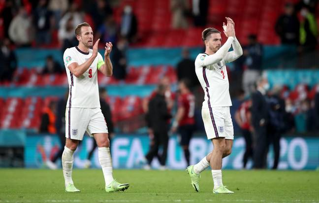 Kane and Grealish could be playing together at City soon. Image: PA Images