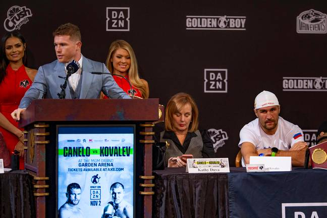 Canelo has fought on DAZN and his next fight with Billy Joe Saunders is also on the platform. Image: PA Images