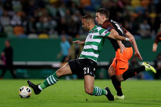 Jese in action for Sporting in 2019. (Image Credit: PA)