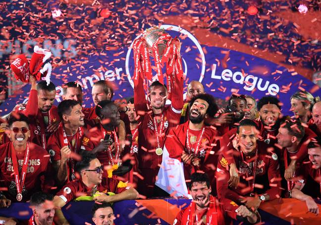 Current champions Liverpool are the ones pushing the new regulations. Image: PA Images