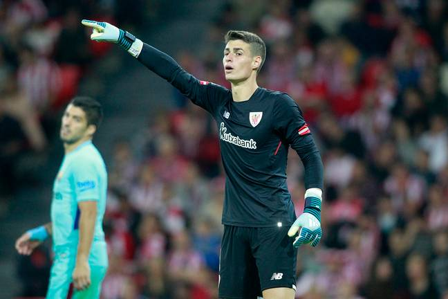 Kepa was wanted by Real earlier this year but Zidane decided against the move. Image: PA Images