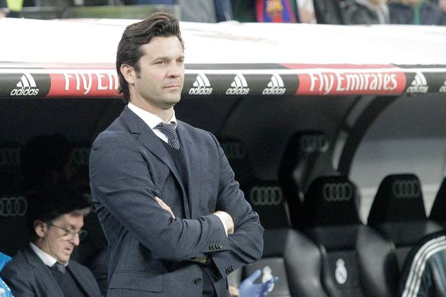 Solari saw his tenure as Real Madrid boss end after the Ajax defeat. (Image Credit: PA)