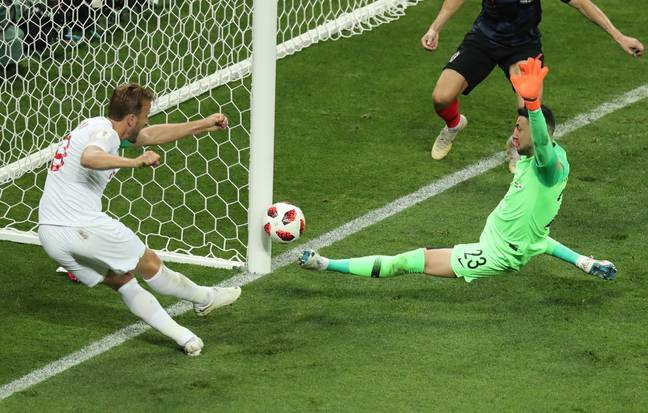 Kane's follow-up hit the post, much to the dismay of England fans across the world. (Image Credit: PA)
