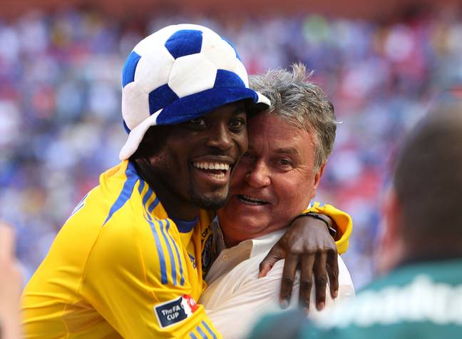 Essien was a major part of Chelsea's successes. Image: PA Images