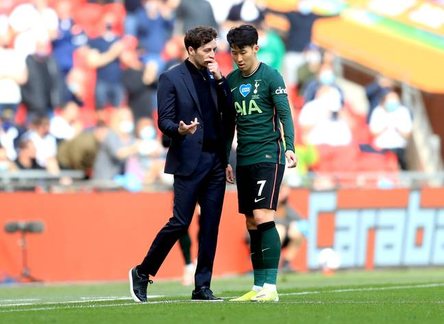 Ryan Mason managed the club in their Carabao Cup final loss to Manchester City. Image: PA Images
