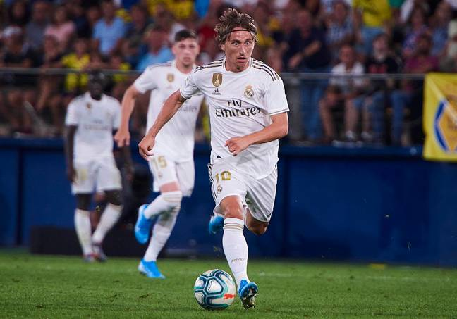 Modric in action (Image Credit: PA)