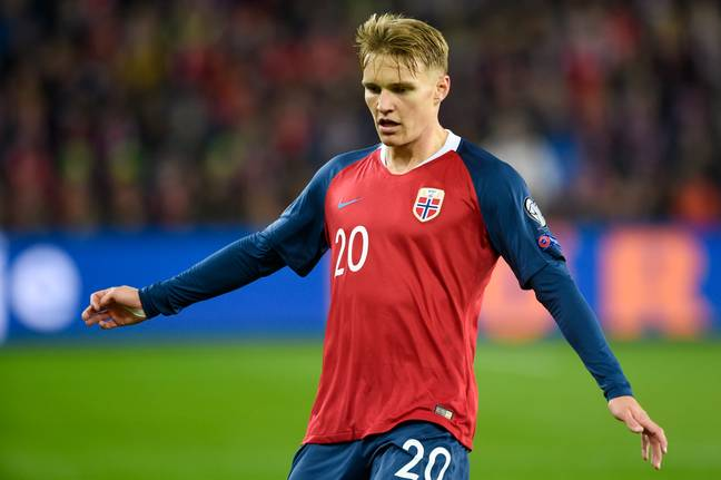 Martin Odegaard is amongst the players who can't play. Image: PA Images