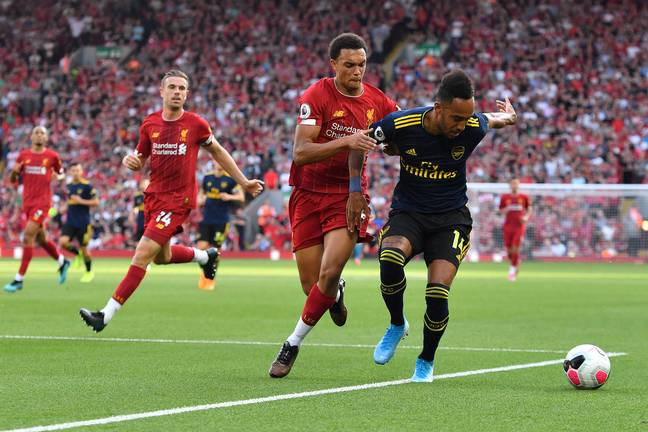 Trent Alexander-Arnold is doing better than his club teammate. Image: PA Images