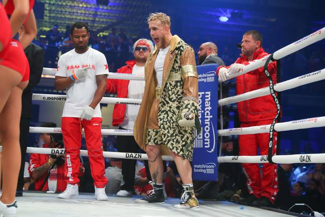 It's not the first time Jake Paul has got in the ring. Image: PA Image
