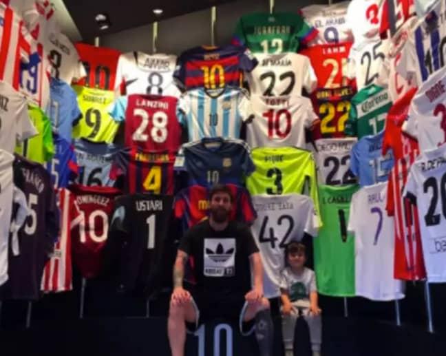 Image: Lionel Messi/ Instagram