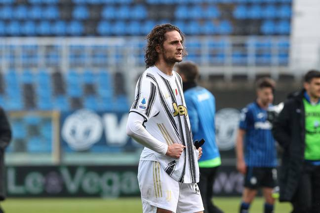 Rabiot has been linked with United before. Image: PA Images