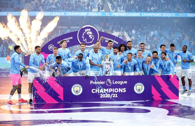 City will apparently repeat these scenes in May 2022. Image: PA Images
