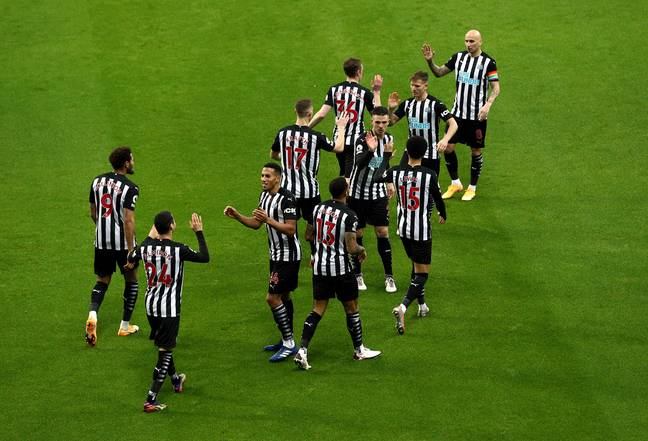 Newcastle's last win came a month ago against West Brom. Image: PA Images