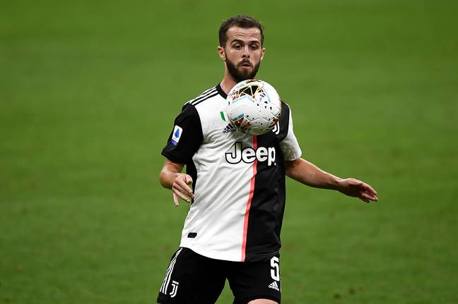 The Pjanic and Arthur deals are technically separate deals but they'll still swap places. Image: PA Images