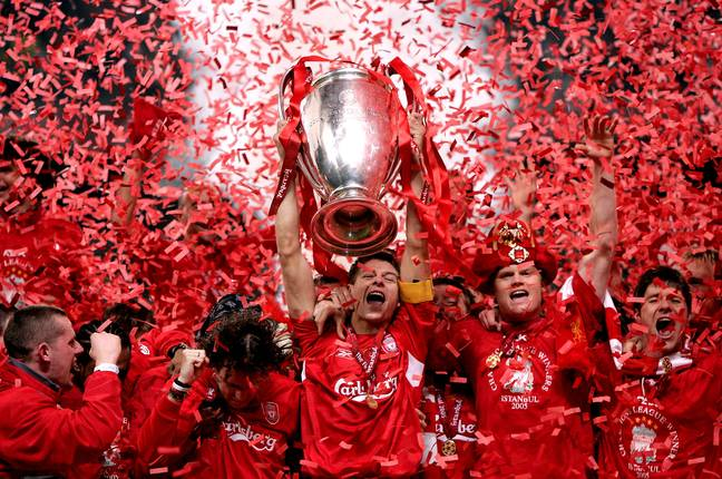 Gerrard inspired Liverpool to Champions League victoy in 2005, but never clinched English football's top honour. (Image Credit: PA)