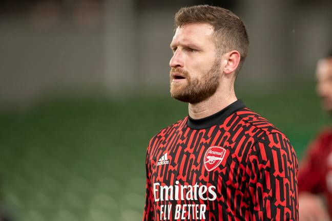 Mustafi hasn't played much this season. Image: PA Images