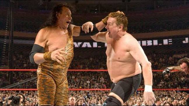 Snuka and Piper at the Rumble. Image: WWE.com